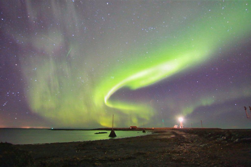 KuzeyIsıklari_İzlanda_Grotta_Lighthouse2