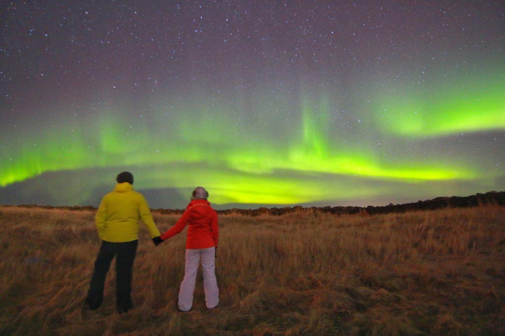 KuzeyIsıklari_İzlanda_Grotta_Lighthouse8